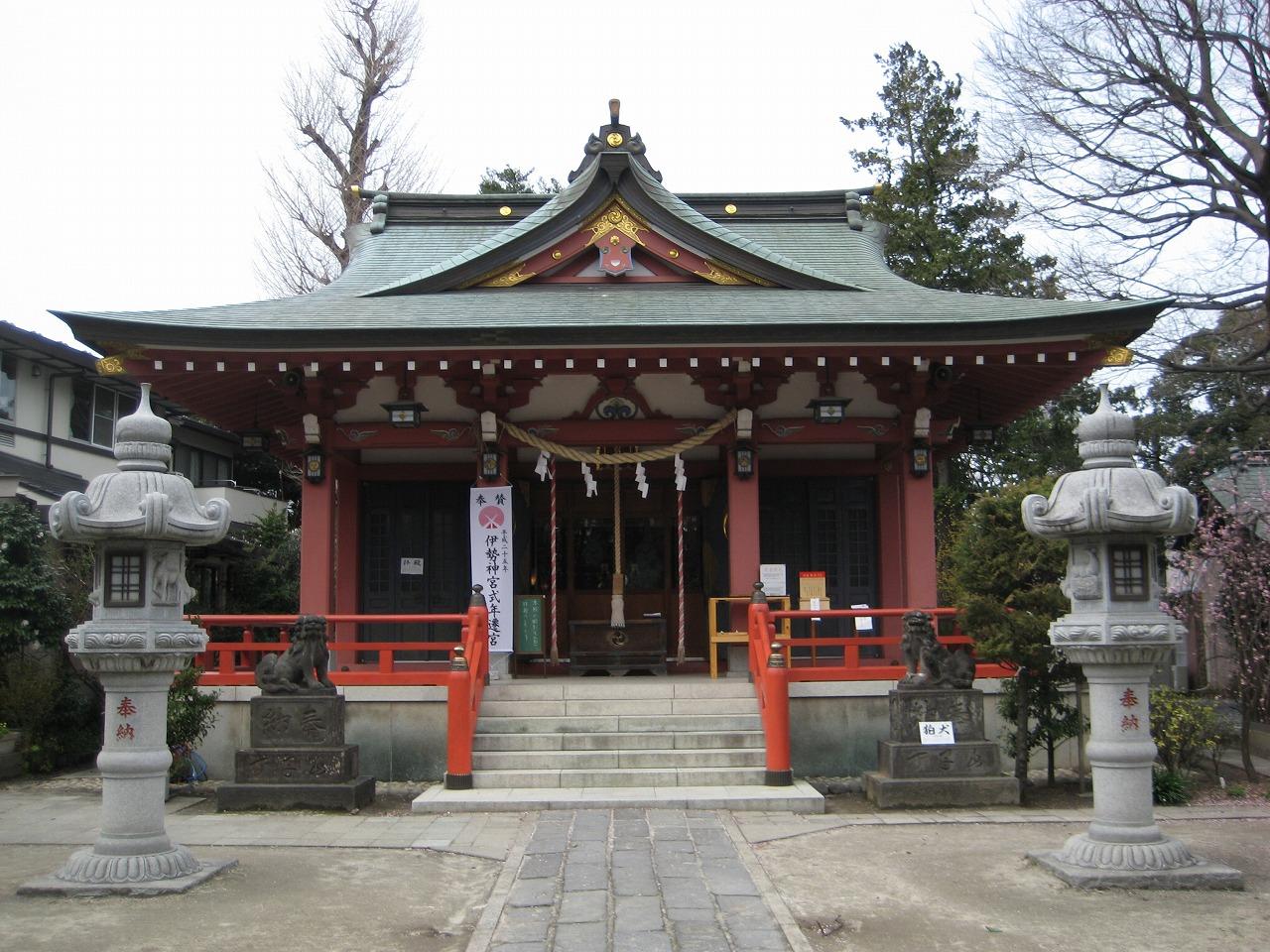 大沢香取神社(埼玉県越谷市)神社