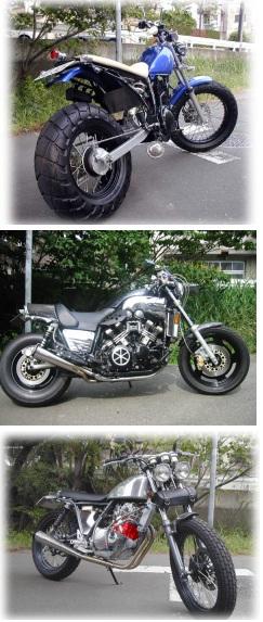 Road Star~ロードスター~ (さいたま市南区) カスタムバイク・バイク修理